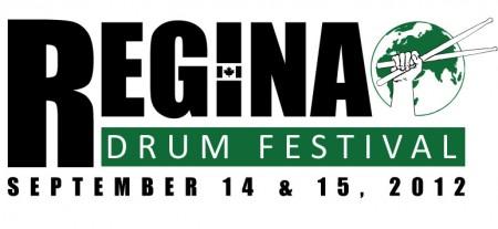 REGINA DRUM FESTIVAL 2012 logo