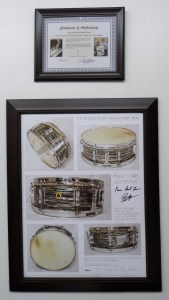 Percussive Arts Society to Raffle a Signed Ringo Starr Print During PASIC 2014