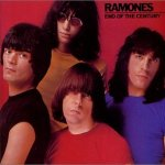 the Ramones - End Of The Century (album cover)