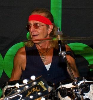 Drummer Roger Earl of Foghat