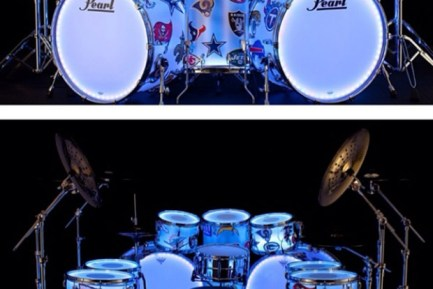 DrumLite Used by Chili Pepper Chad Smith During Super Bowl Halftime Show