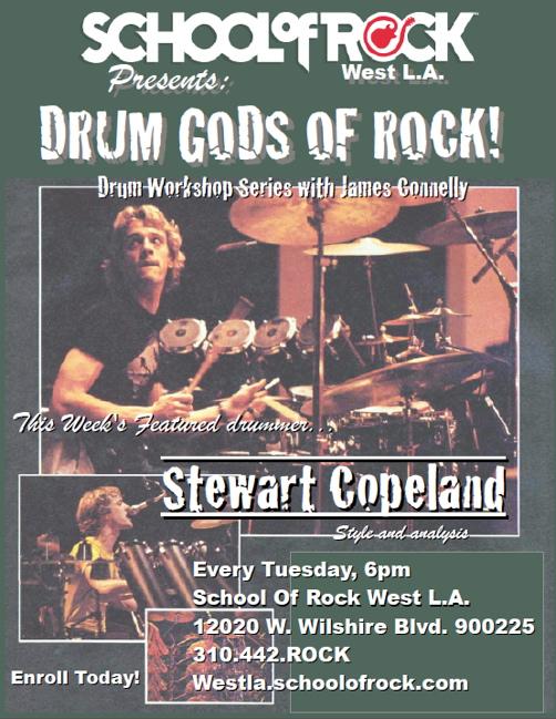 School of Rock West LA Clinic