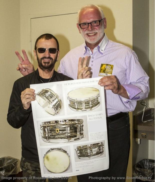 SRR Ringo & Gary w Poster 6 7 2014 a