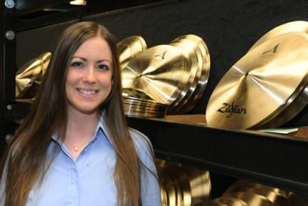 Sarah Hagan to Head Zildjian Artist Relations Worldwide