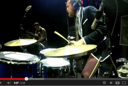 Darren King of Mutemath at Guitar Center's 2012 Drum-Off Grand Finals (Part 3)