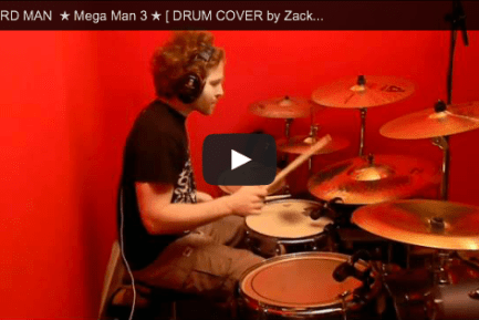 """Zach B.'s Drum Cover of """"The Hard Man Theme"""" from Mega Man 3"""