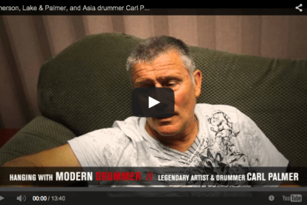 Emerson, Lake & Palmer, and Asia Drummer Carl Palmer Video Interview