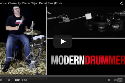 VIDEO! Product Close-Up: Dixon Cajon Pedal Plus (From the June 2014 Issue)