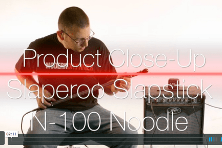 VIDEO DEMO! Slaperoo Percussion N-100 Noodle