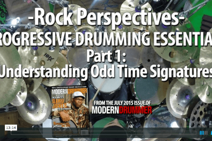 VIDEO LESSON! Progressive Drumming Essentials, Part 1: Understanding Odd Time Signatures