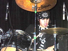 Sean Davidson from Blacklist Union drummer blog