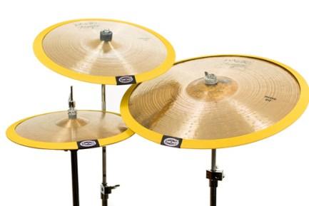 Set 3 Gold Cymbomute Cymbal Mutes
