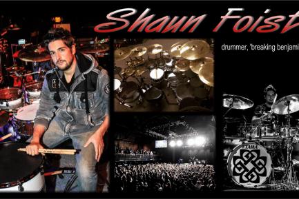 Drummer Blog: Breaking Benjamin's Shaun Foist Talks Touring and Presenting Your Best on YouTube