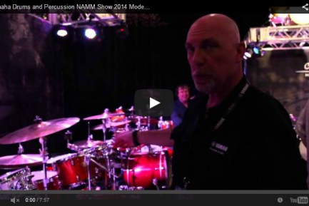 Yamaha Drums and Percussion NAMM Show 2014 New Gear Coverage