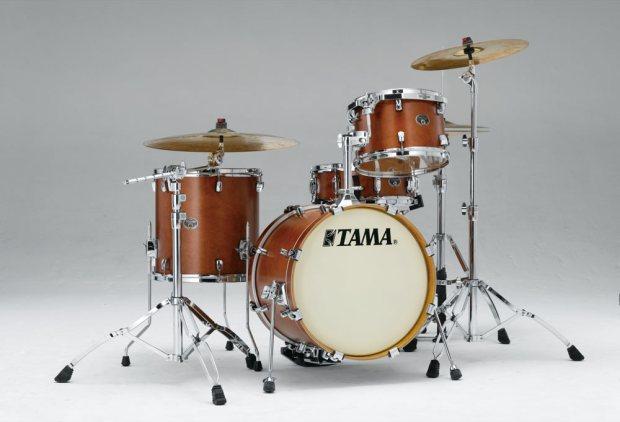Tama's Silverstar four-piece Jazz birch kits