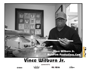 Drummer Blog of Vince Wilburn Jr.