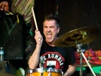 Drummer Al Pahanish Jr. of DYS