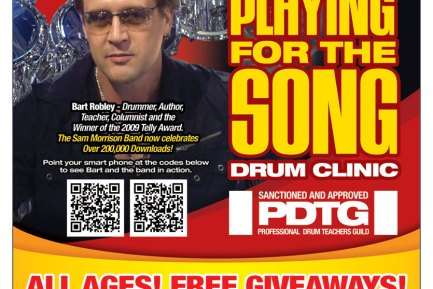 """Bart Robley """"Playing for the Song"""" Clinic"""