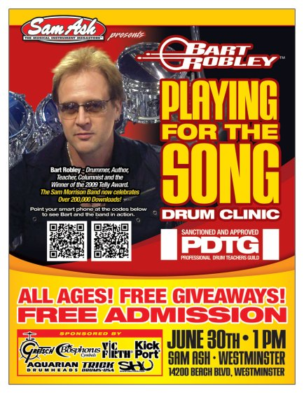"Bart Robley ""Playing for the Song"" Clinic"