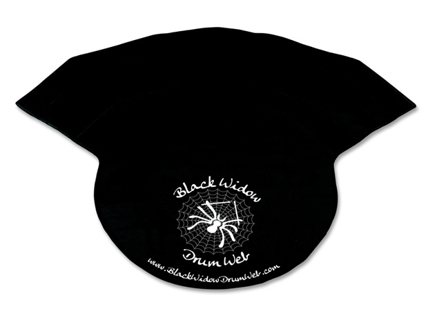 Black Widow Drum Web