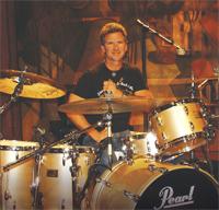 Drummer Chuck Tilley