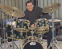 drummer Mike Clark