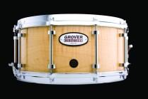 Curly Maple Grover Pro Custom Snare Drum
