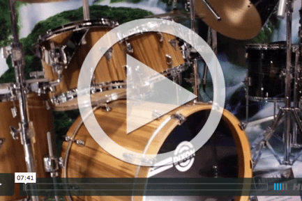 Dixon Drums and Hardware at NAMM 2015 (VIDEO)
