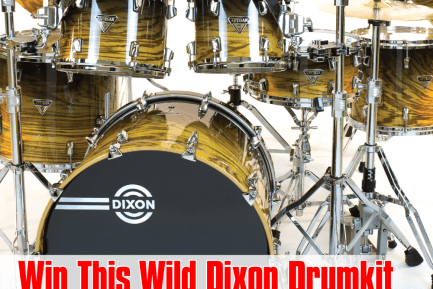 WIN a 9-piece Dixon Artisan Limited Wild Zebra Black Fade Kit with Hardware