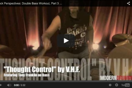 VIDEO! Rock Perspectives: Double Bass Workout Part 3 (October 2013 Issue)