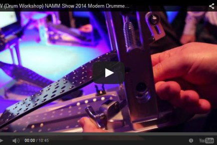 VIDEO - DW (Drum Workshop) NAMM Show 2014 New Gear Coverage