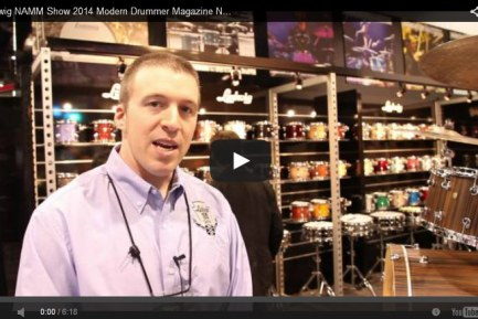 VIDEO - Ludwig NAMM Show 2014 New Gear Coverage