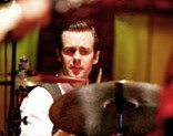 Drummer Mike Marsh of Dashboard Confessional