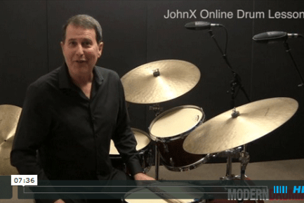 VIDEO LESSON! Jazz Drummer's Workshop: Elvin Jones–Style Triplet Fills, Part 1
