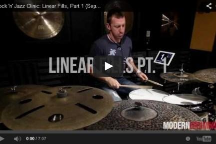 Drummer Mike Johnston
