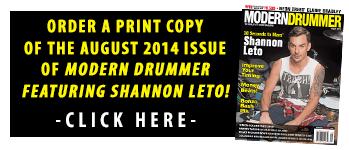 Print Modern Drummer Issues