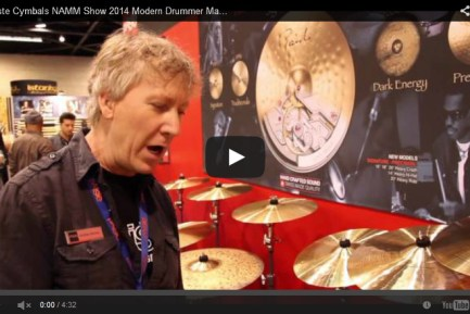 VIDEO - Paiste Cymbals NAMM Show 2014 New Gear Coverage
