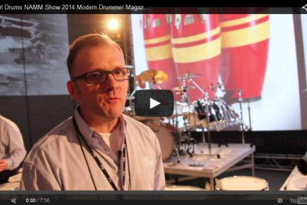 VIDEO - Pearl Drums NAMM Show 2014 New Gear Coverage