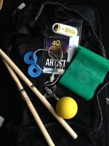 Drummer John Clardy of Tera Melos' Tour Tip Essentials