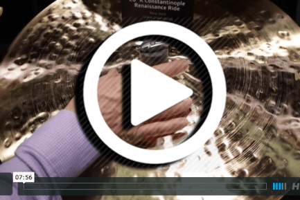 Zildjian at NAMM 2015 (VIDEO)