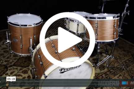 Product Close-Up: Premier Modern Classic Club Drumset (VIDEO)