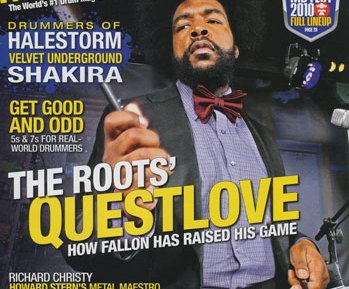 June 2010 Issue of Modern Drummer Featuring The Roots' Questlove