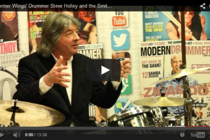 VIDEO! Former Wings' Drummer Steve Holley and the Smithereens' Dennis Diken Pay Tribute to Ringo Starr