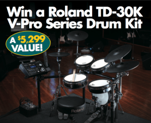 Win a Roland TD-30K V-Pro Series Drum Kit