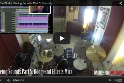 VIDEO! In the Studio: Seeing Sounds, Part 5: Specialty Mics