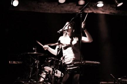 Drummer Melanie Krahmer of Sirsy by Wyatt Stone