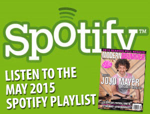 Listen to the Drumming on Spotify: Great Tracks From MD's May 2015 Issue