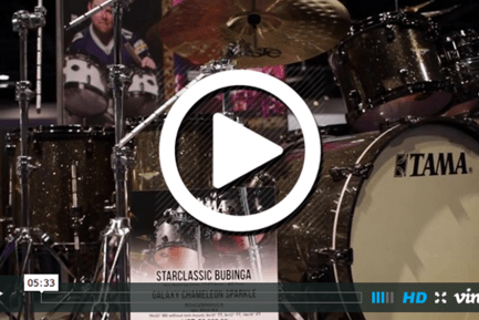 Tama at NAMM 2015 (VIDEO)