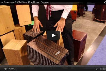 VIDEO - Tycoon Percussion NAMM Show 2014 New Gear Coverage