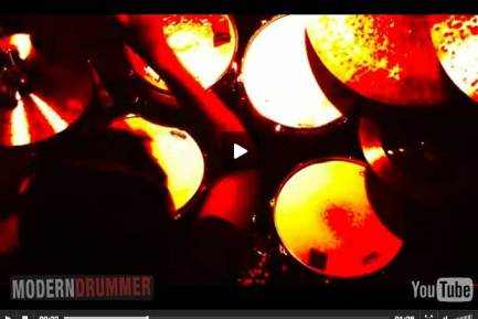 Drummer Zach Danziger video still